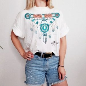 Vintage Apache Junction Arizona Cropped T Shirt